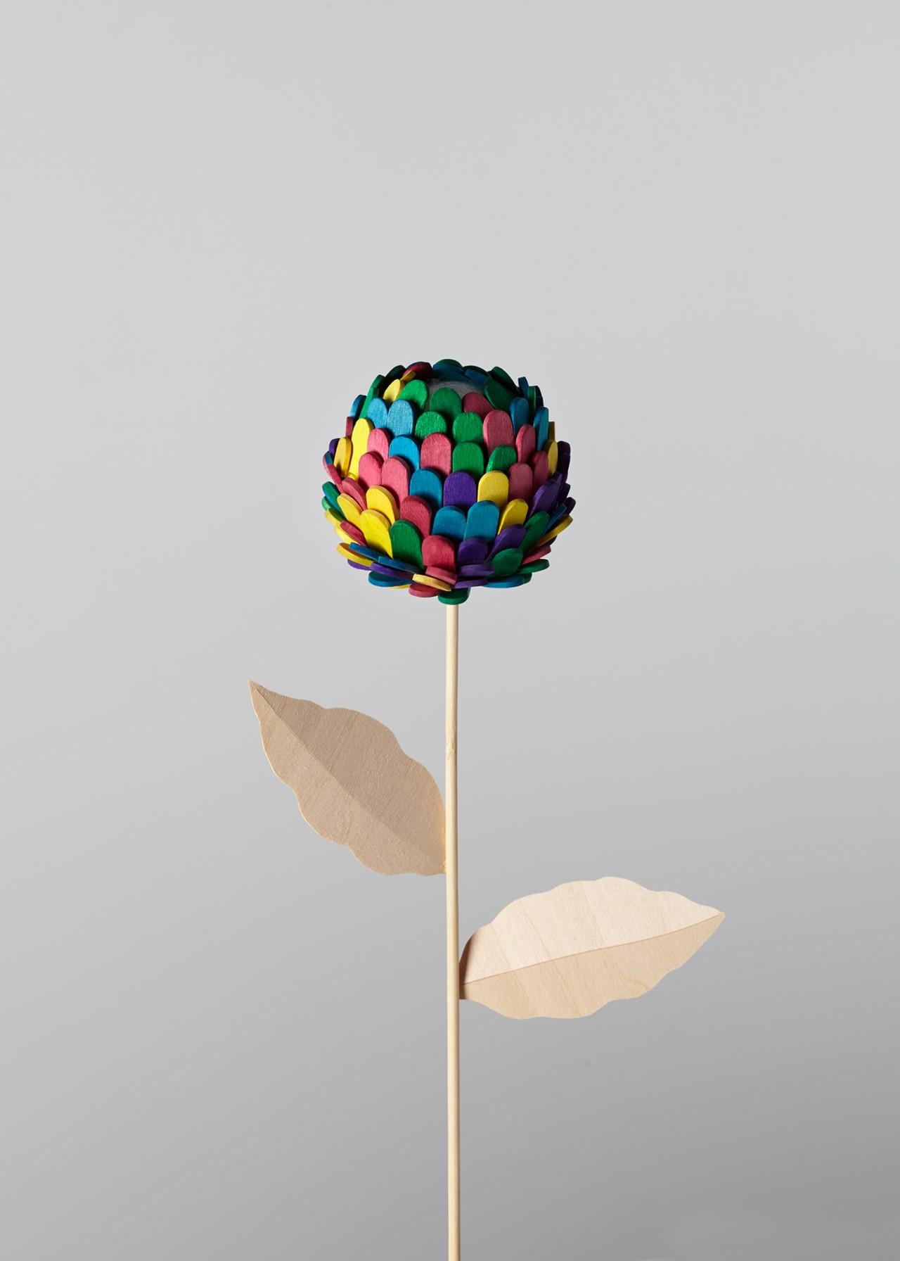 Kerry Hughes Lollipop Flower